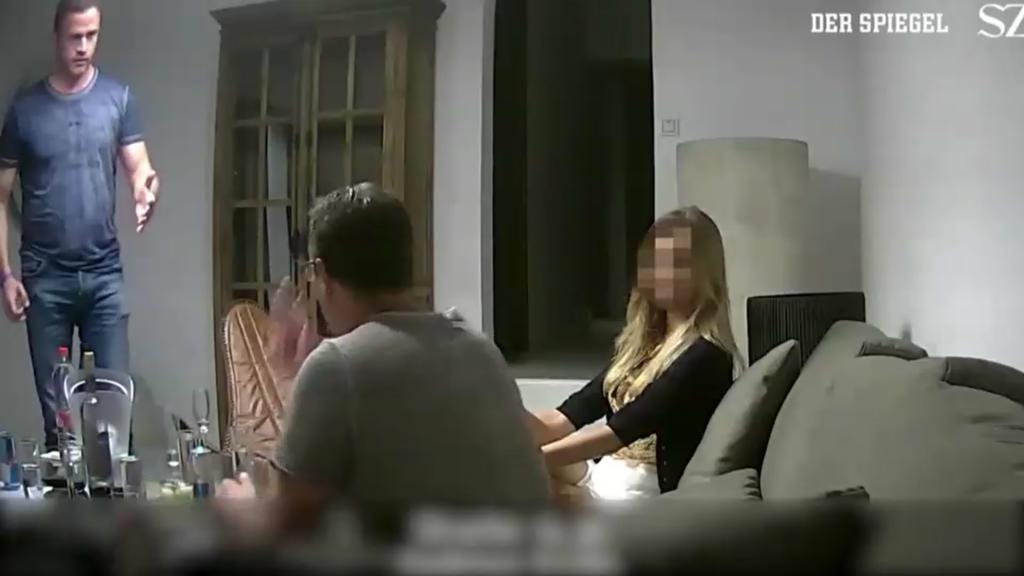 Hans-Christian Strache wurde in der Villa auf Ibiza heimlich gefilmt.