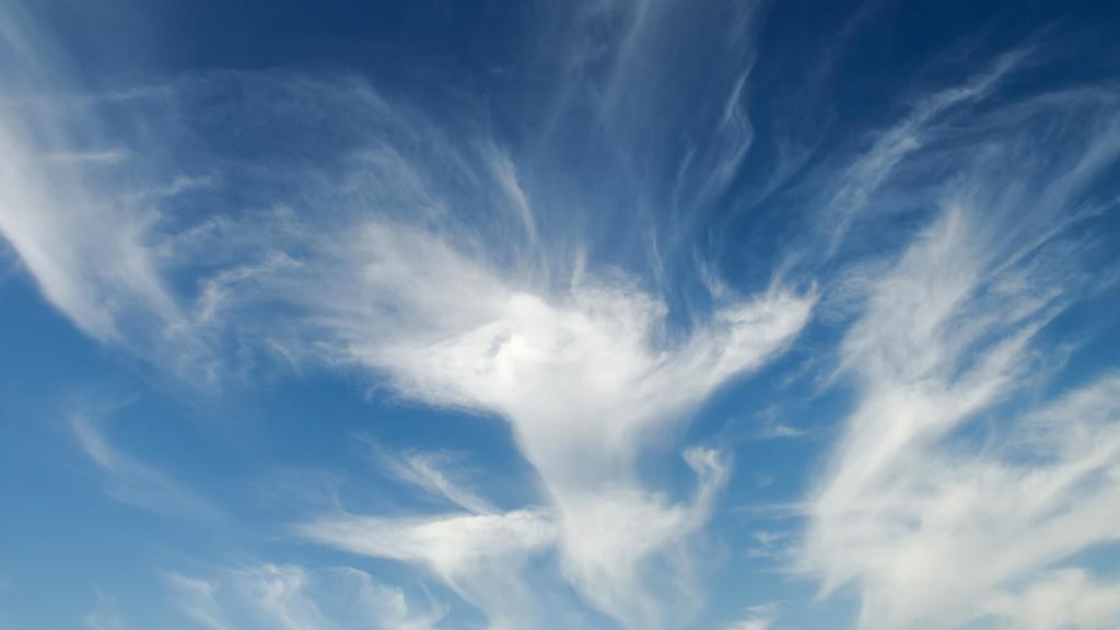 Wolkenformation, Cirrus-Wolken, Cirrus uncinus, Spanien, Europa | Verwendung weltweit, Keine Weitergabe an Wiederverkäufer.
