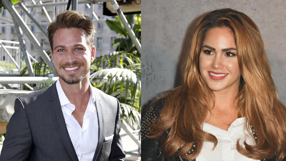 Sebastian Pannek und Angelina Heger wären optisch auf jeden Fall ein schönes Paar.