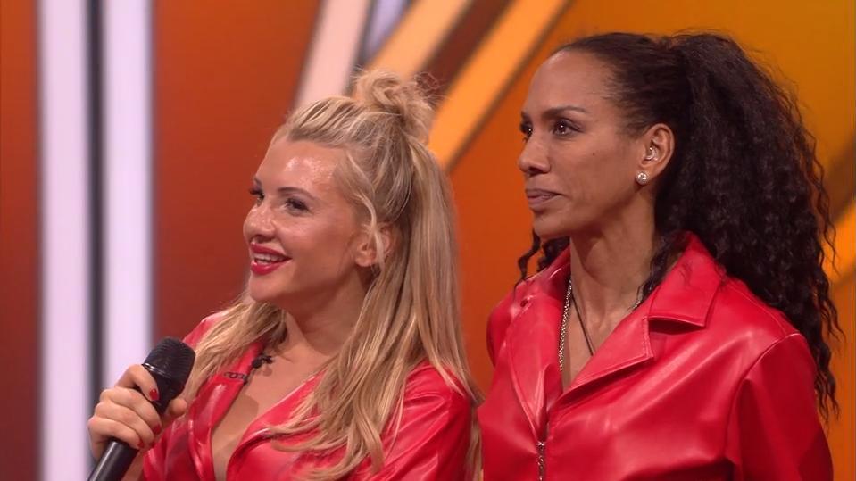 Evelyn und Barbara nach ihrem Tanzduell - Let's Dance 2019