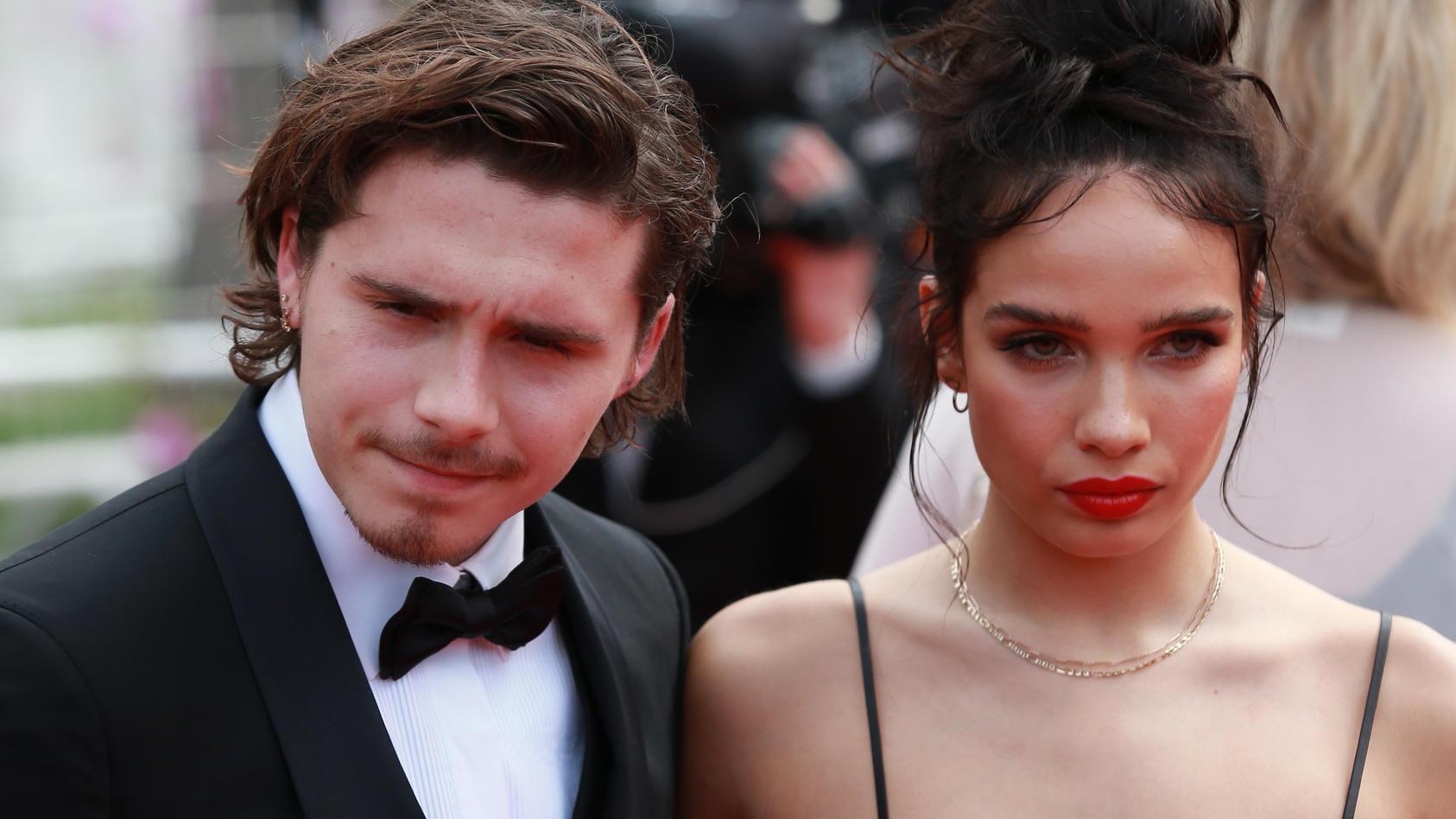 """Vor der Premiere von """"Once Upon a Time... in Hollywood"""" scheint die Stimmung schon angespannt zwischen Brooklyn Beckham und seiner Freundin Hana Cross."""
