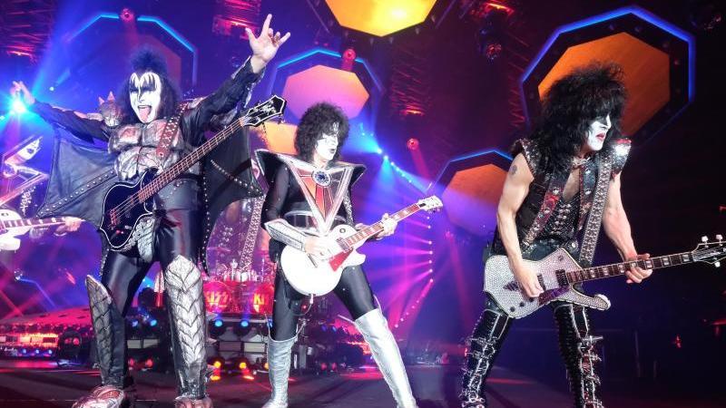 Tourauftakt der Band Kiss / Foto: Sebastian Willnow