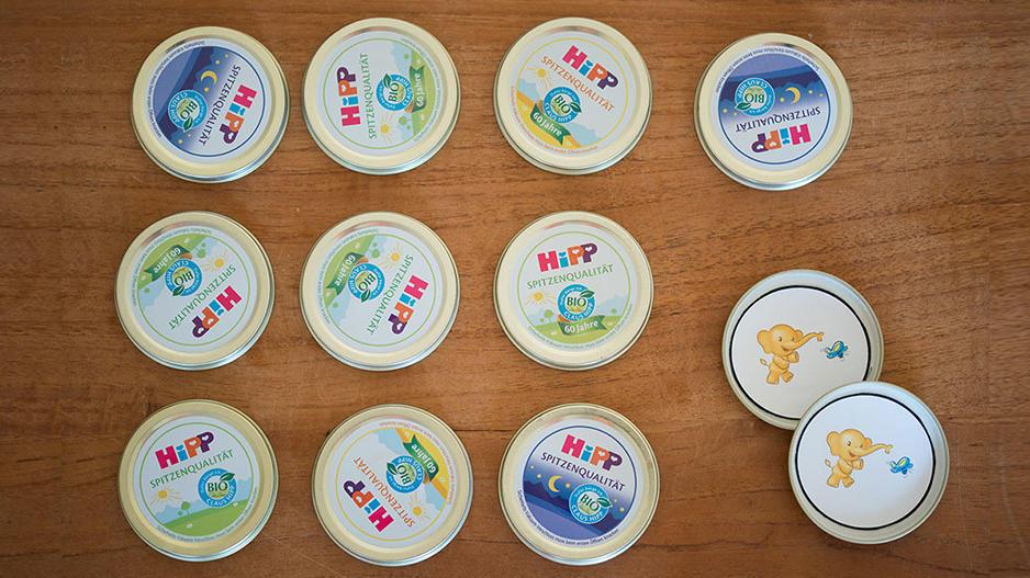 So einfach können Sie ein Memory-Spiel aus Baby-Gläschen zaubern.