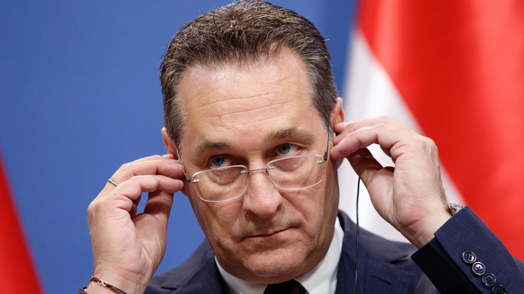 Heinz-Christian Strache hat Anzeige gegen deutsche Medien erstattet.