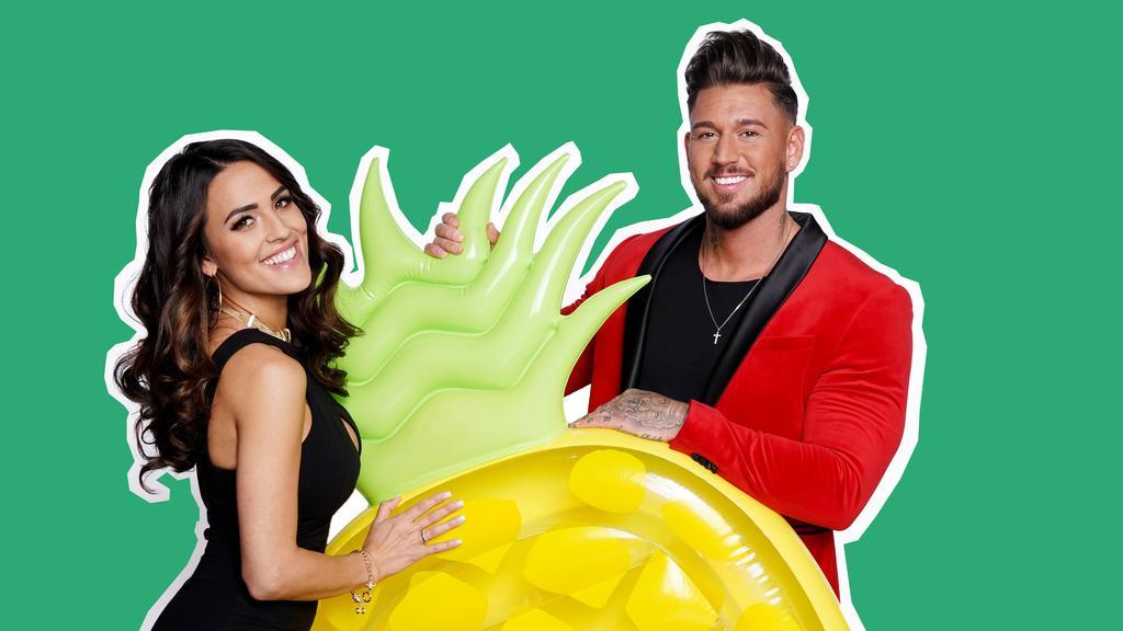 """""""Love Island""""-Reality Stars Elena Miras (27) und Mike Heiter (27)."""