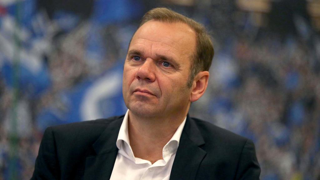 Der HSV-Vorsitzende Bernd Hoffmann