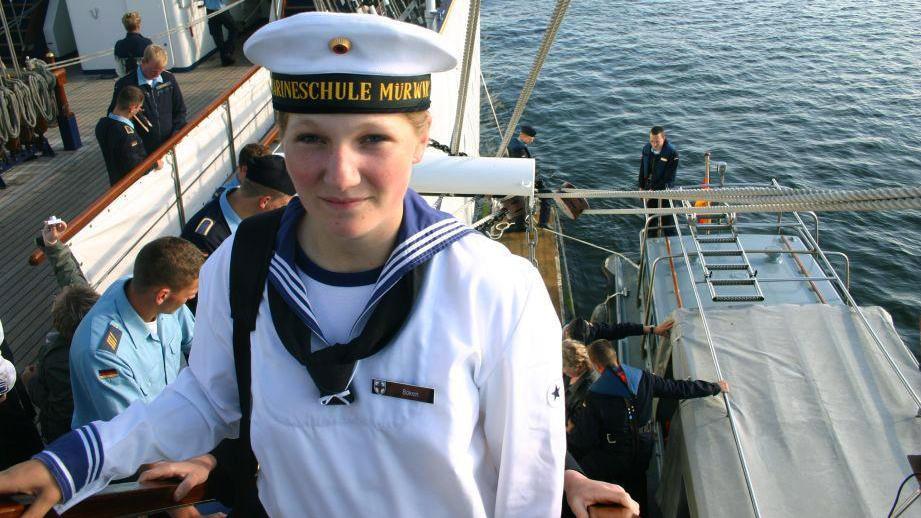 Marine-Kadettin Jenny Böken