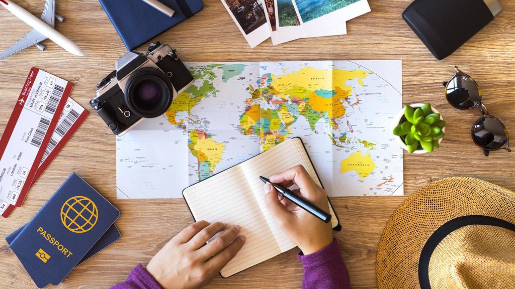 Vor dem Urlaub muss an alles gedacht werden - das fällt mit einer Checkliste viel leichter