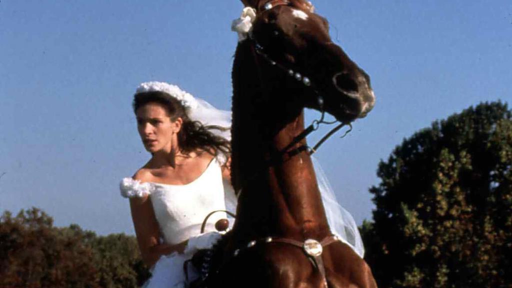 """Julia Roberts in der Kinokomödie """"Die Braut, die sich nicht traut"""" (1999)"""