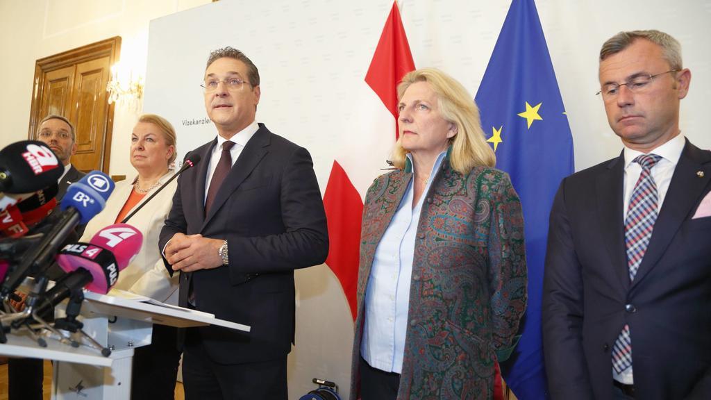 Ibiza-Affäre: Vizekanzler Heinz Christian Strache tritt zurück.