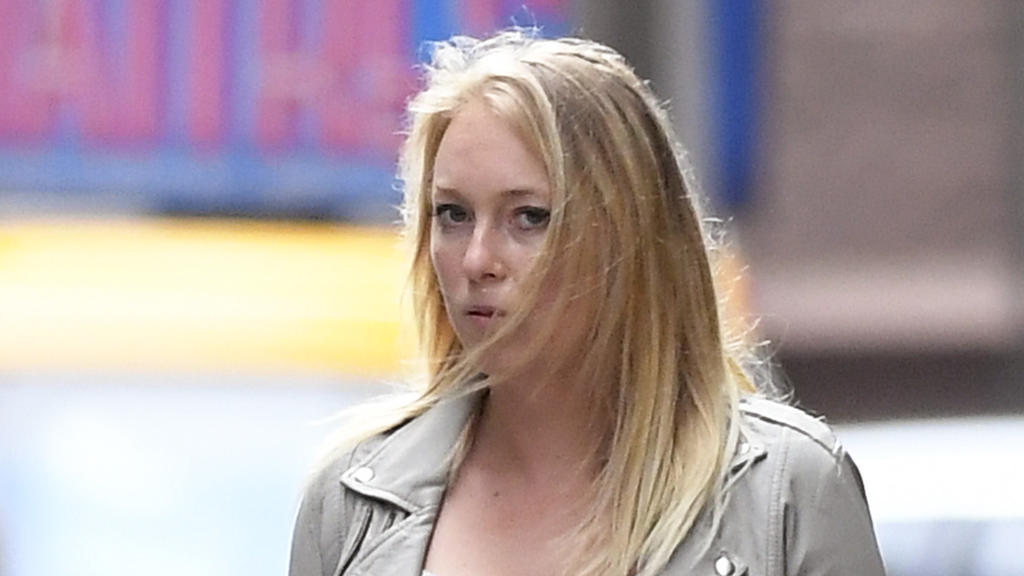 EXCLUSIVE: India Oxenberg and her mother Princess Catherine Oxenberg photographed going out for lunch to the Polo Lounge just few hours later after arriving at Brooklyn Federal Court to do the closing statement of the Keith Raniere NXIVM cult wich br