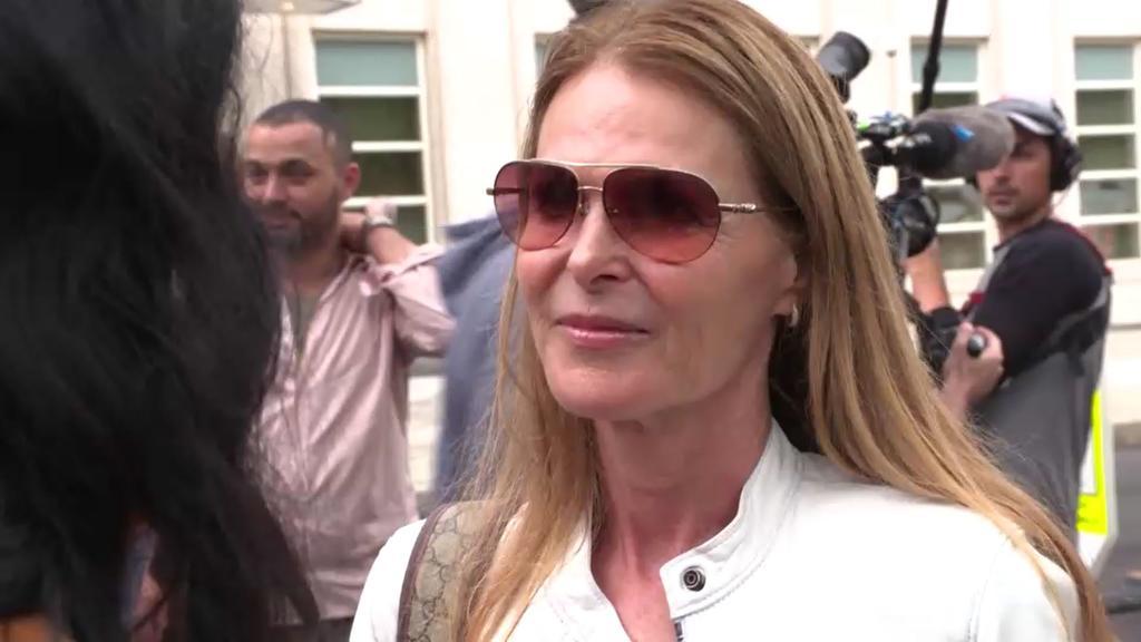 Catherine Oxenberg war nach dem Schuldspruch erleichtert.