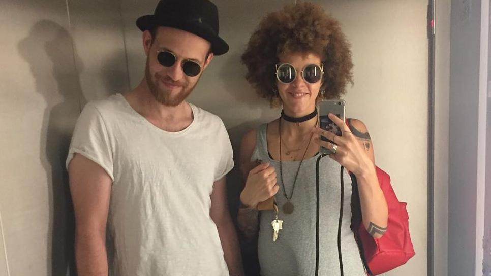 Patrick Müller und Joy Abiola-Müller genießen den Sommer. © Instagram: joyistmeinname