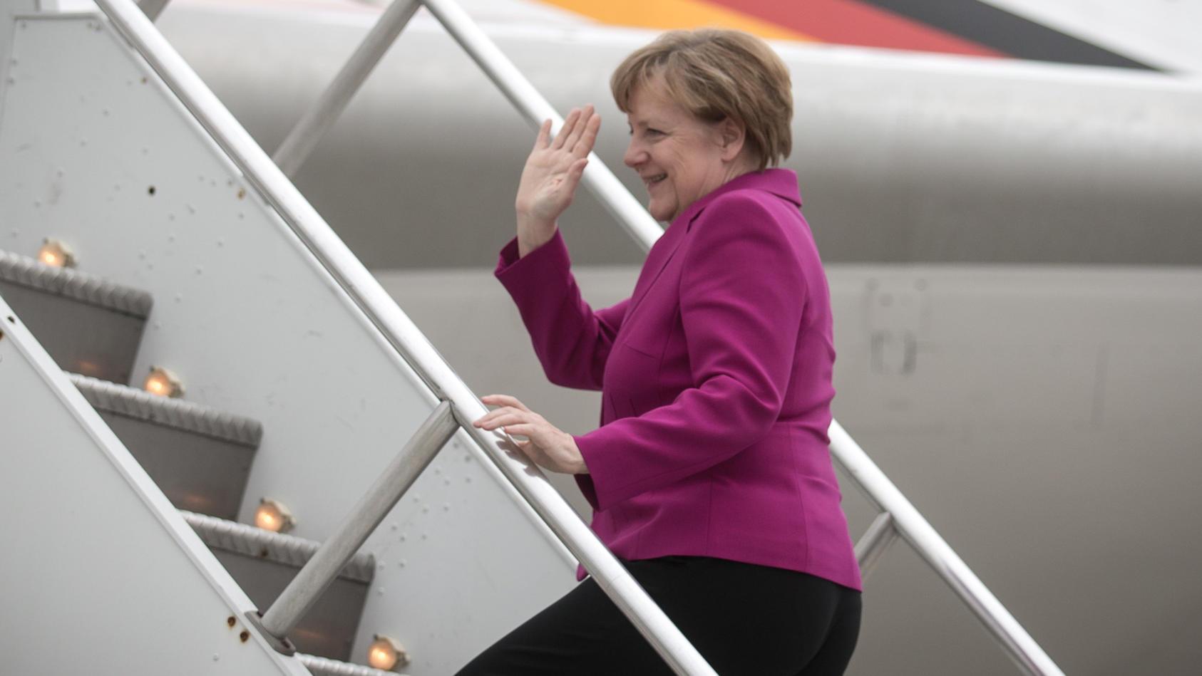 Merkel zum G20-Gipfel nach Osaka abgeflogen