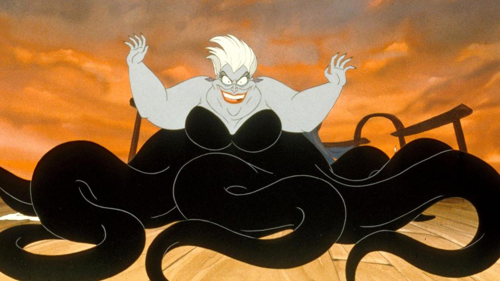 """Ursula """"Little Mermaid"""" Disney"""