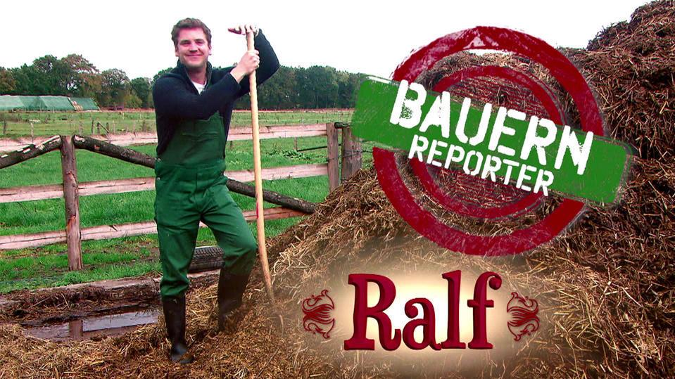 Die Reportagen von Bauernreporter Ralf gibt's jetzt auch bei TVNOW.