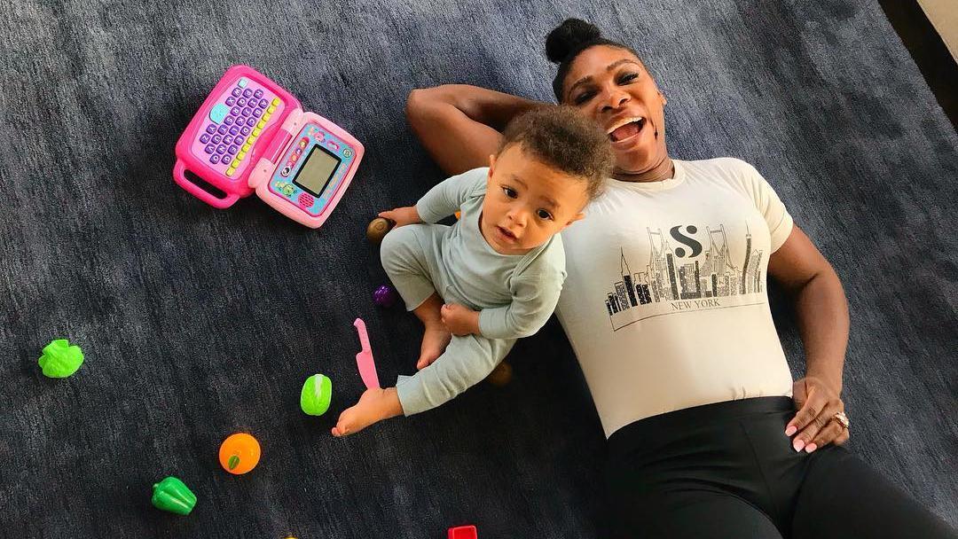 Ein Herz und eine Seele: Serena Williams und ihre Tochter Alexis Olympia.