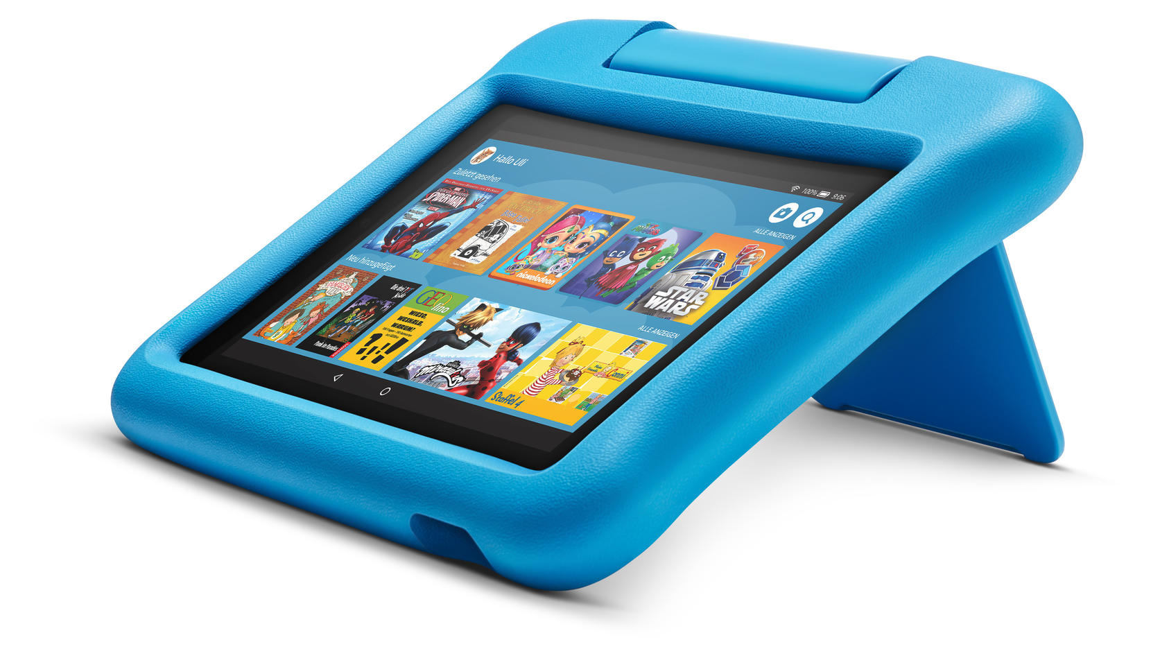 Das Amazon-Fire-Tablet hat Nachwuchs bekommen: Die Kids-Edition.