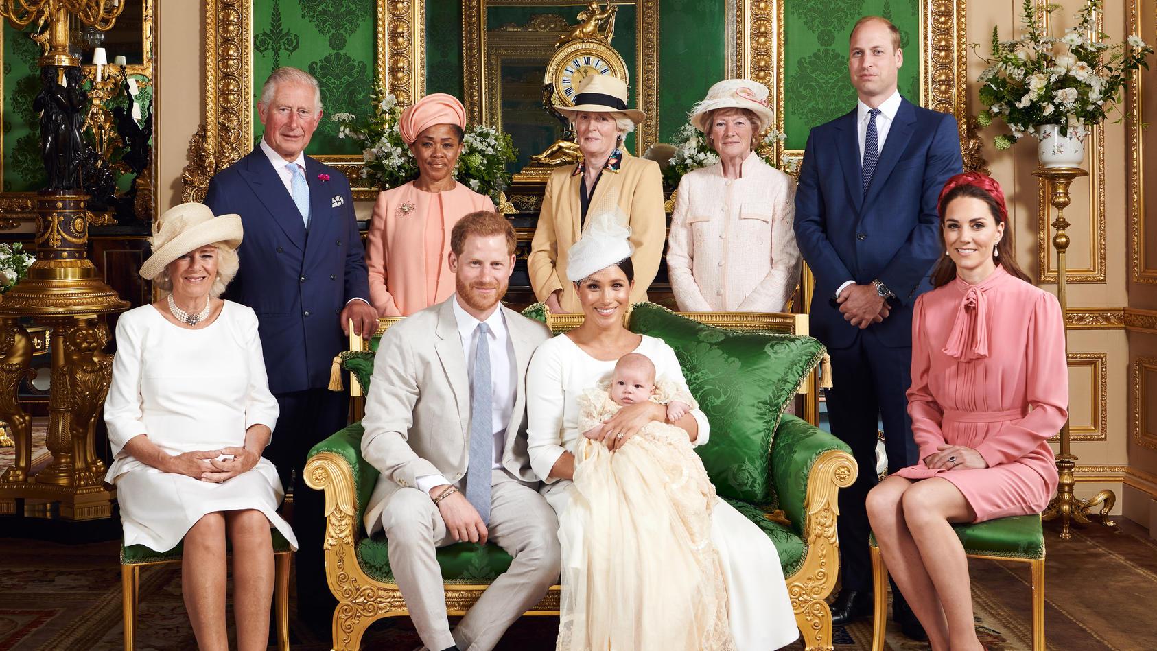 Die Taufe von Baby Archie fand im Familienkreis statt.