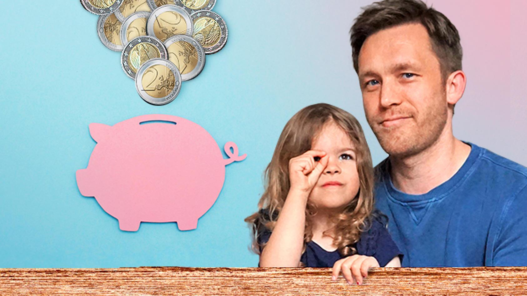 Als Familie Geld sparen? Das ist schwierig, aber möglich. Sebastian Priggemeier stellt Spartipps vor.