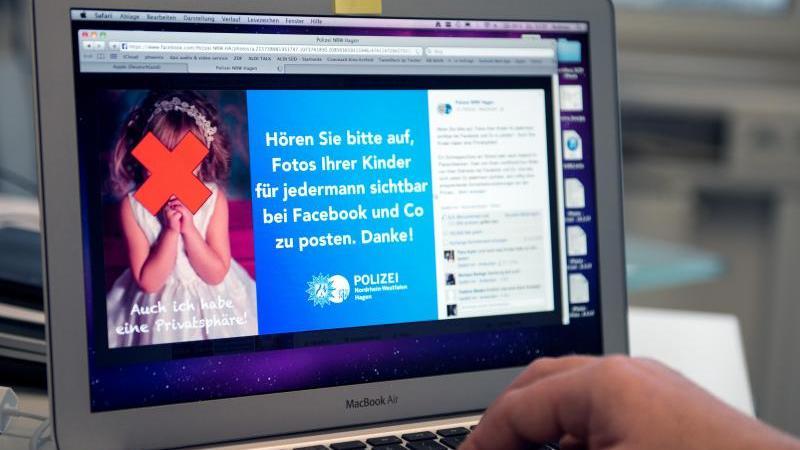 Polizei und Experten warnen Eltern immer wieder davor, unbedacht Kinderfotos ins Netz zu stellen. Foto: