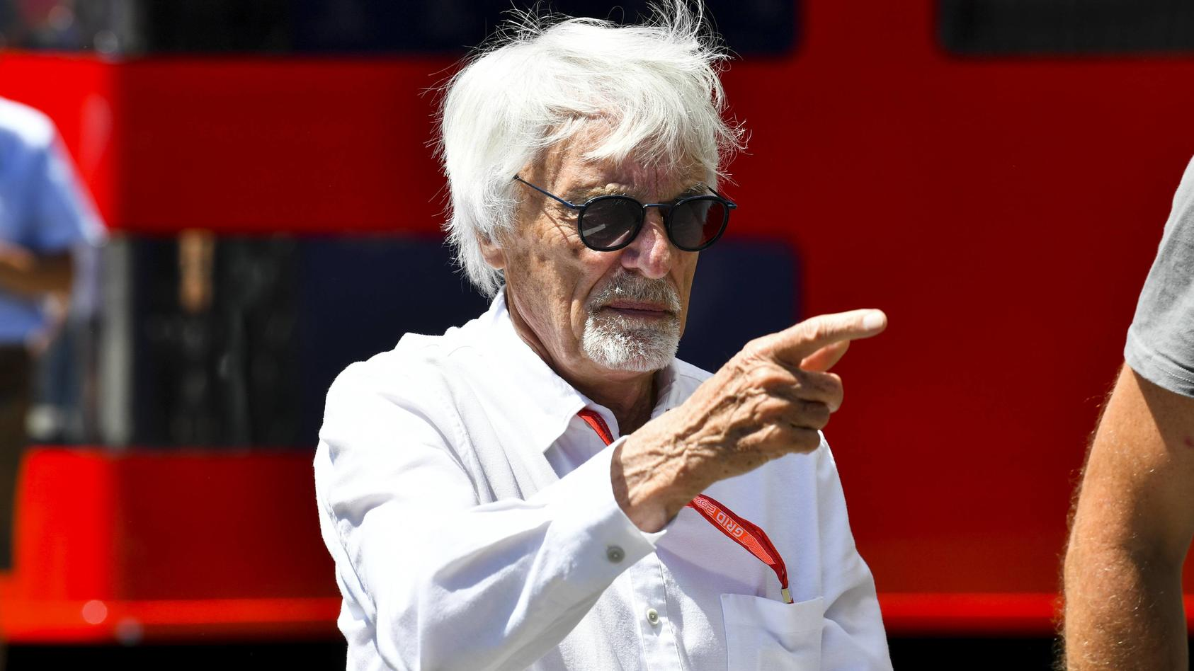 2019 Austrian GP RED BULL RING AUSTRIA JUNE 30 Bernie Ecclestone Chairman Emiritus of Formula