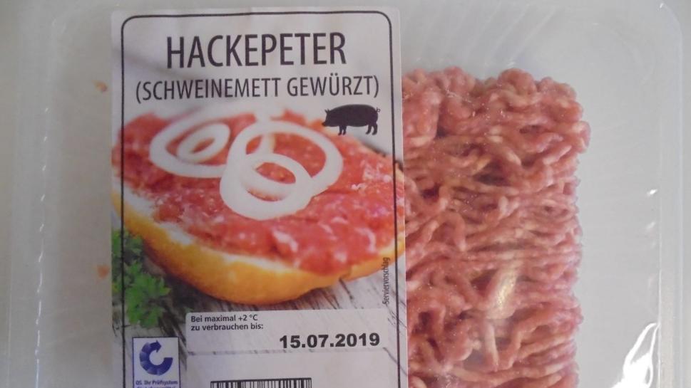 """Schweinemett """"Hackepeter"""" bei Netto zurückgerufen"""