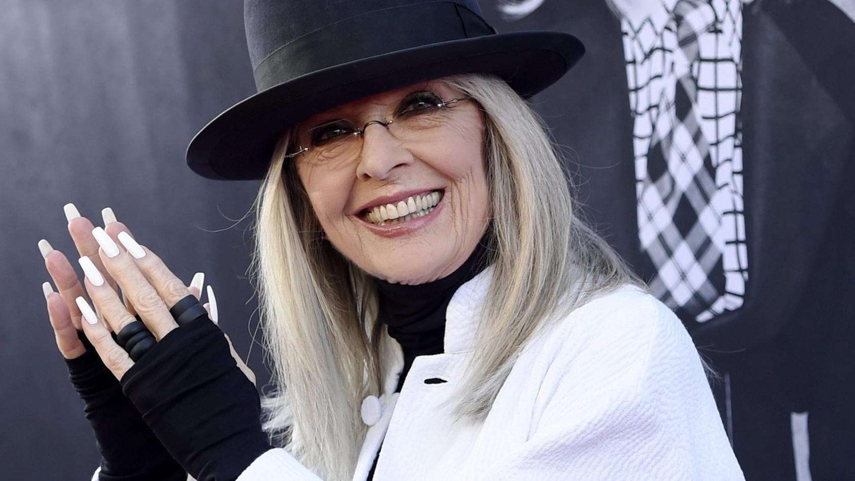 Diane Keaton hatte seit 35 Jahren keine Dates mehr.