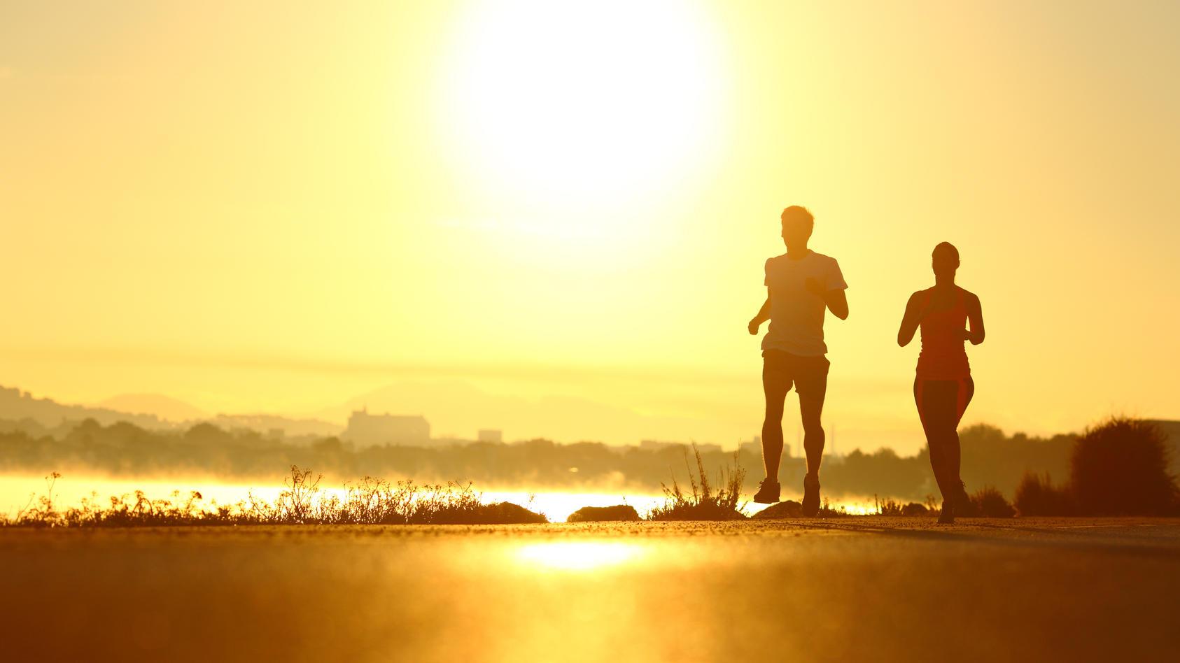 sport morgens oder abends