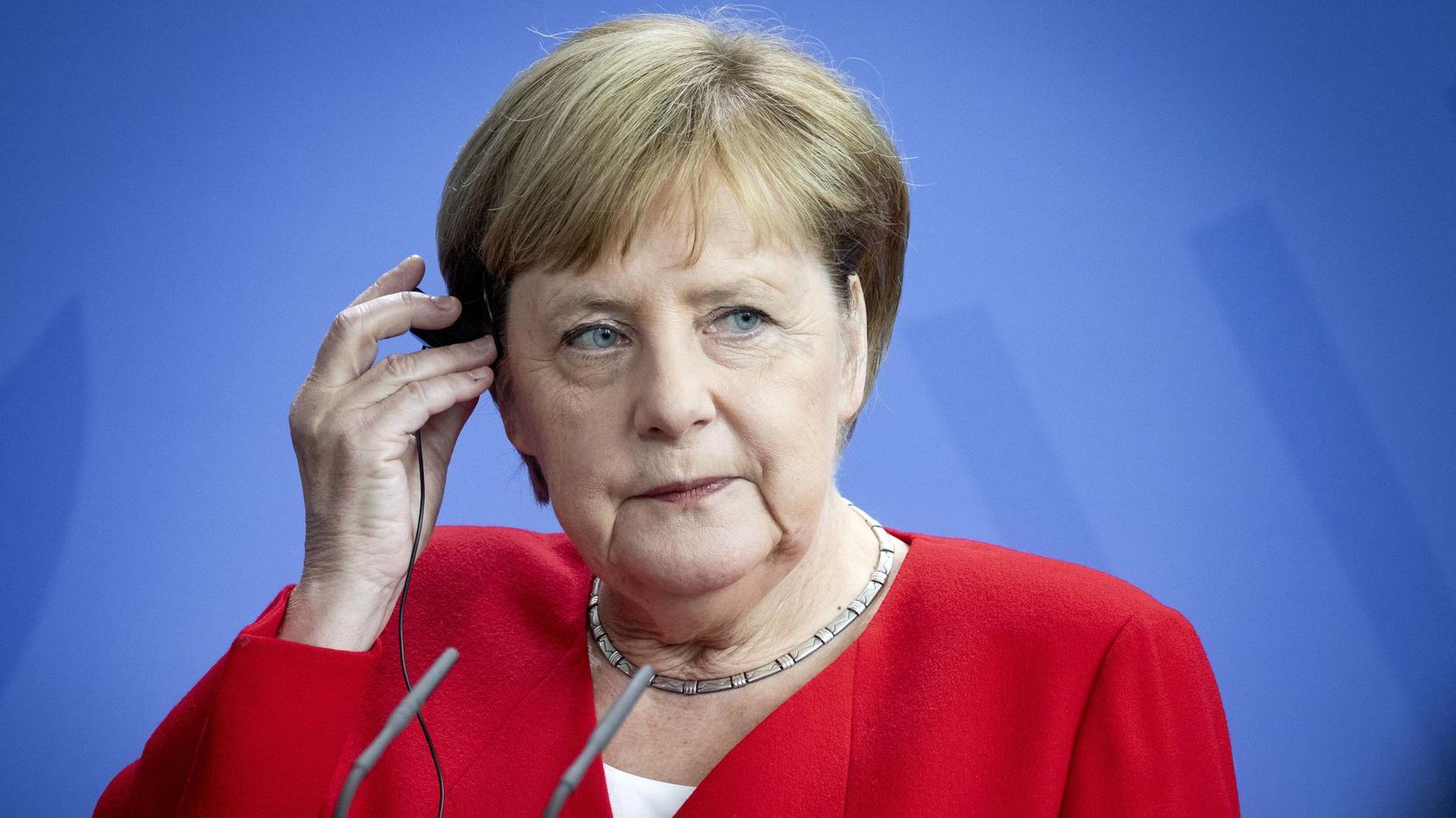 Bundeskanzlerin Angela Merkel wird 65 Jahre alt.