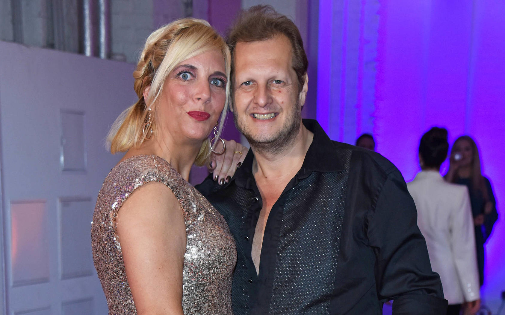 Daniela und Jens Büchner haben hart an der Faneteria gearbeitet
