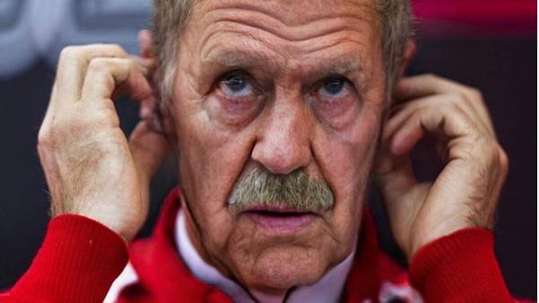 Sebastian Vettel in der Face App Old Challenge