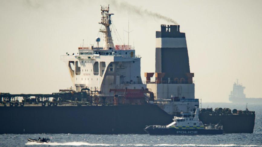"""Supertanker """"Grace 1"""" vor Gibraltar gestoppt"""