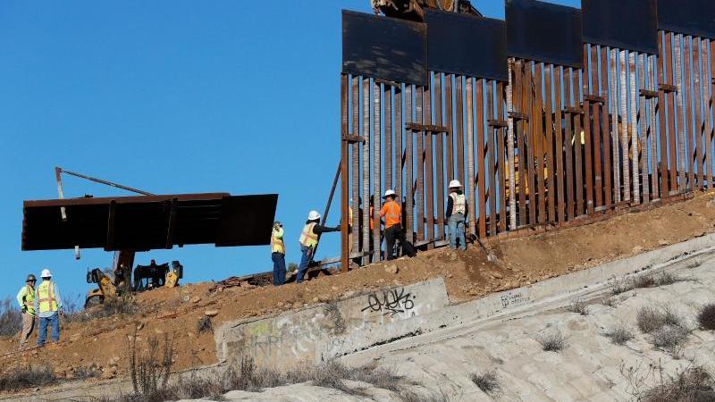 Mauerbau zwischen den USA und Mexiko