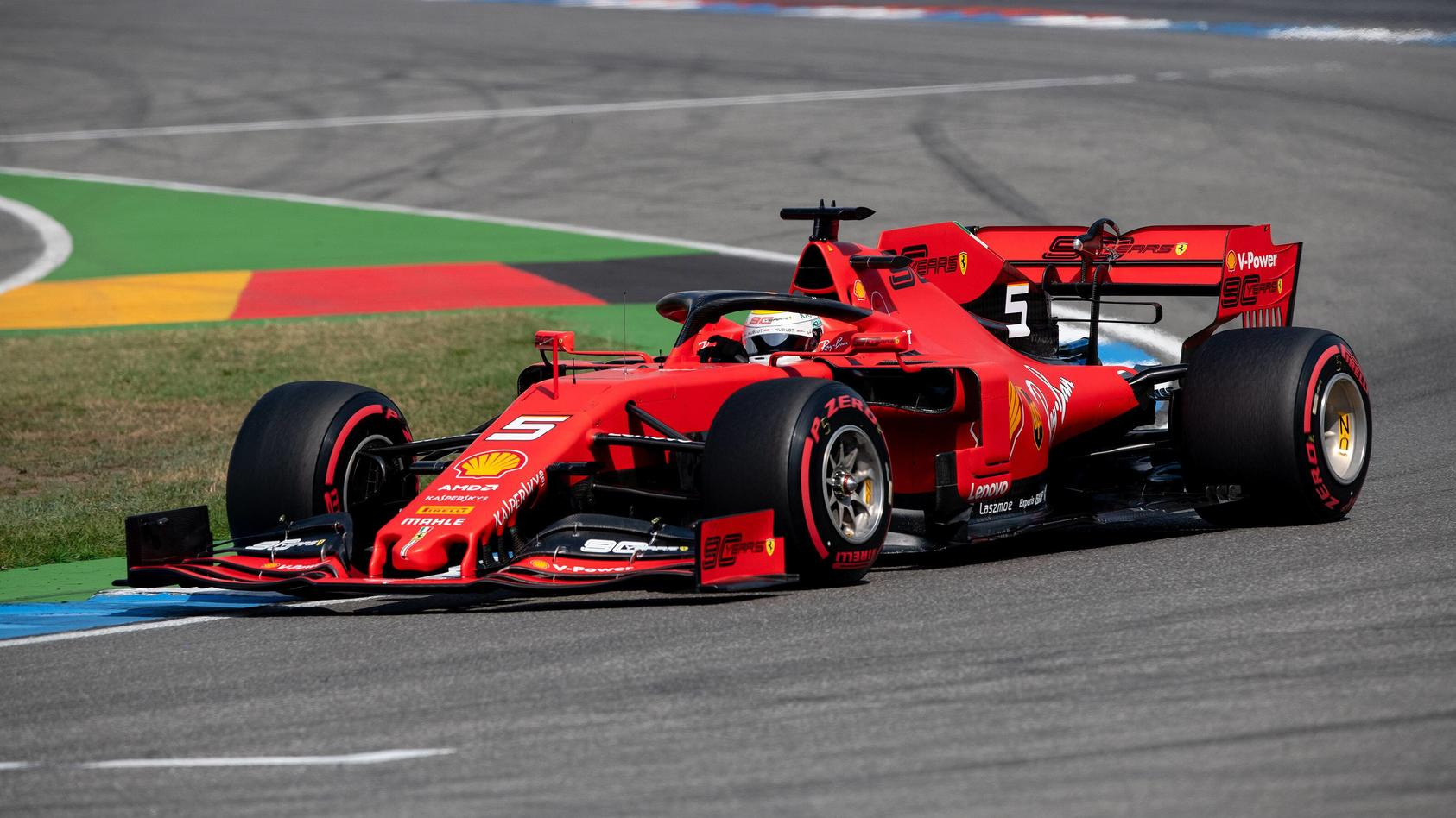 Sebastian Vettel Scuderia Ferrari formula 1 GP Germany in Hockenheim 27 07 2019 Photo mspb Jerry