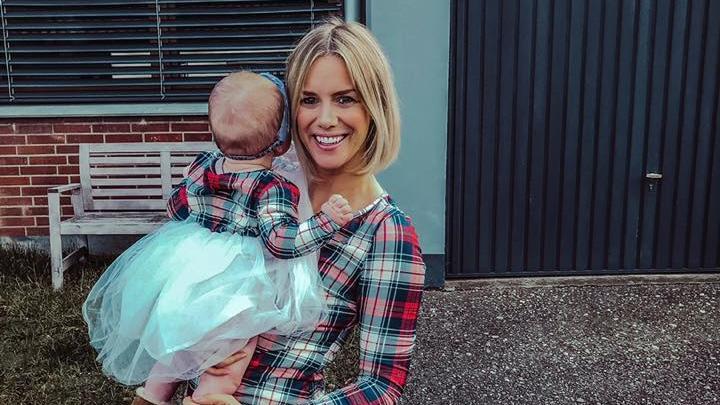 Sandra Kuhn mit ihrer Tochter.