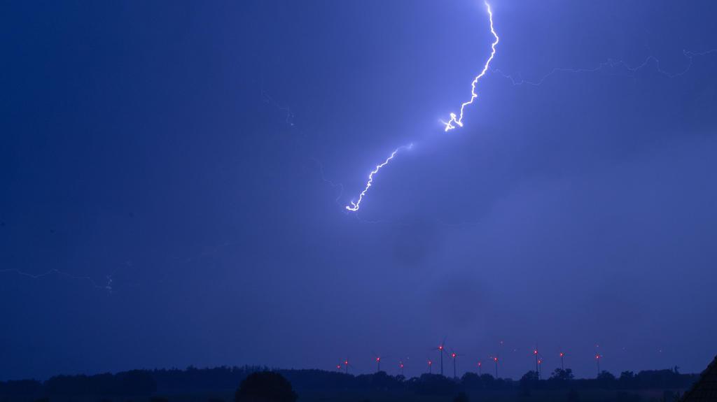 Gewitter werden an der Adria werden häufiger auftreten.