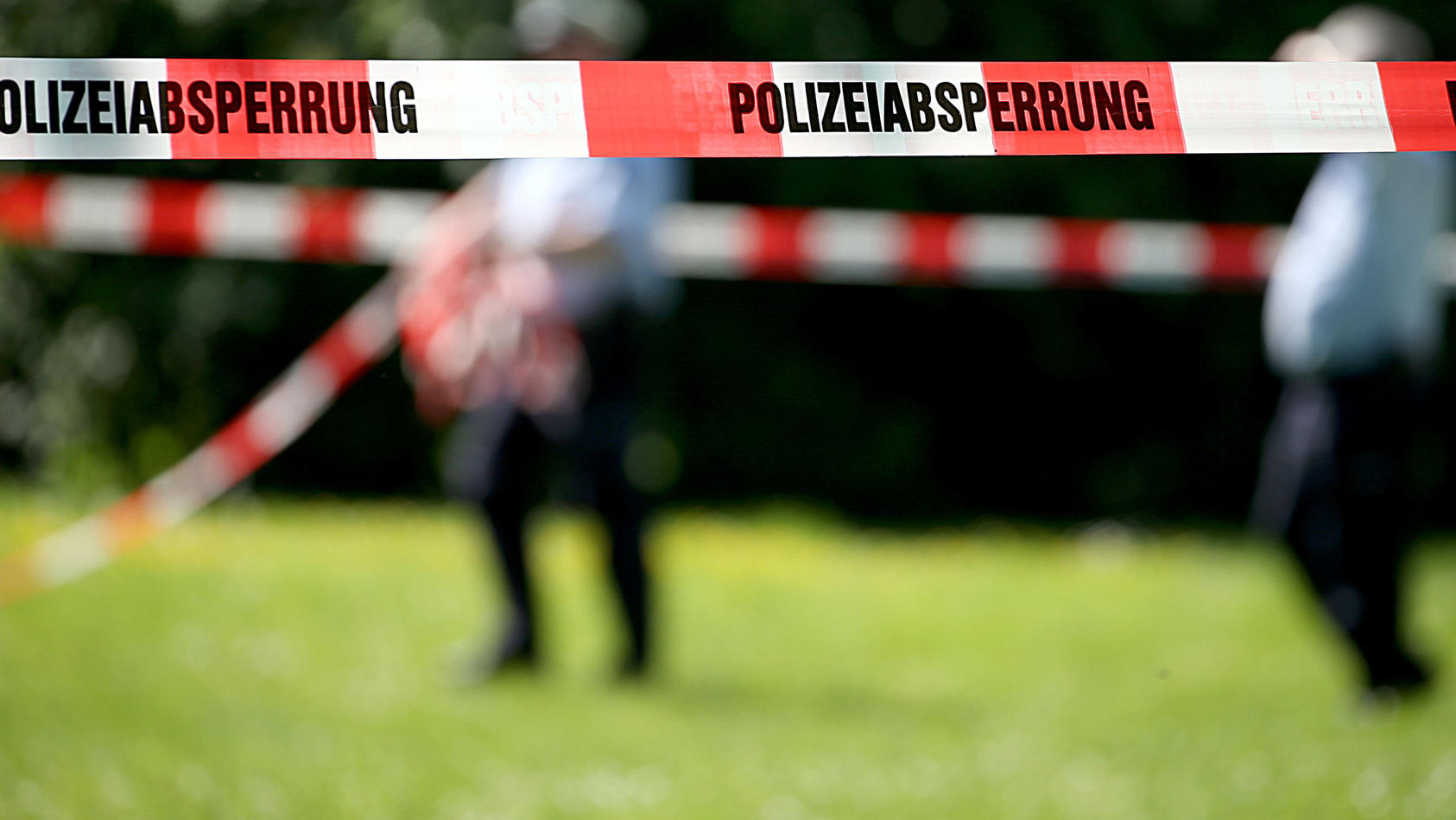 Polizeieinsatz (Symbolfoto).