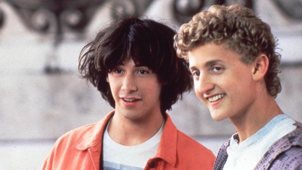 """Alex Winter und Keanu Reeves in """"Bill & Teds verrückte Reise durch die Zeit"""" (1989)"""