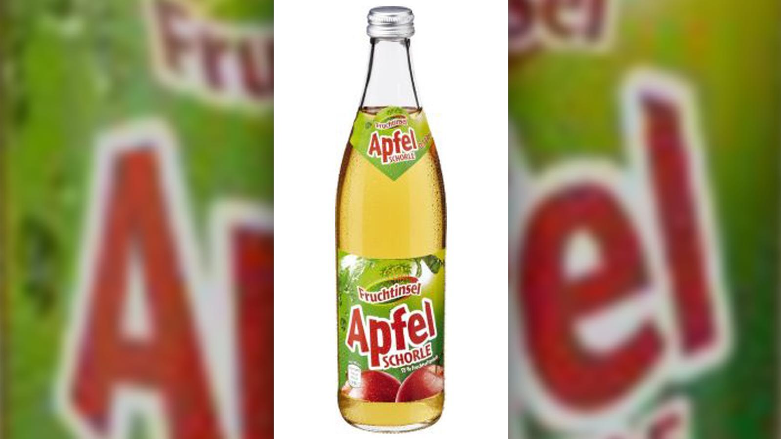 Diese bei Netto verkaufte Apfelschorle wurde zurückgerufen.