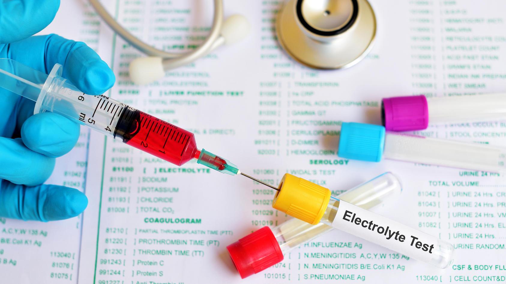 Elektrolyte sind lebensnotwendig für uns
