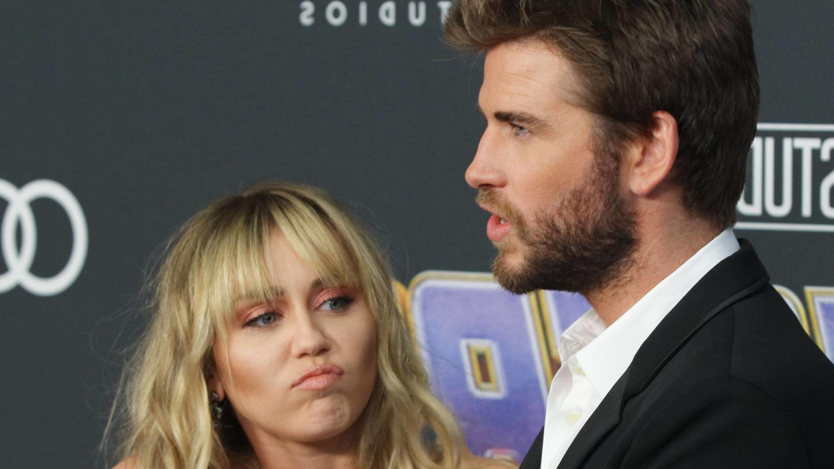 Miley Cyrus und Liams Hemsworth lieben sich nicht mehr.