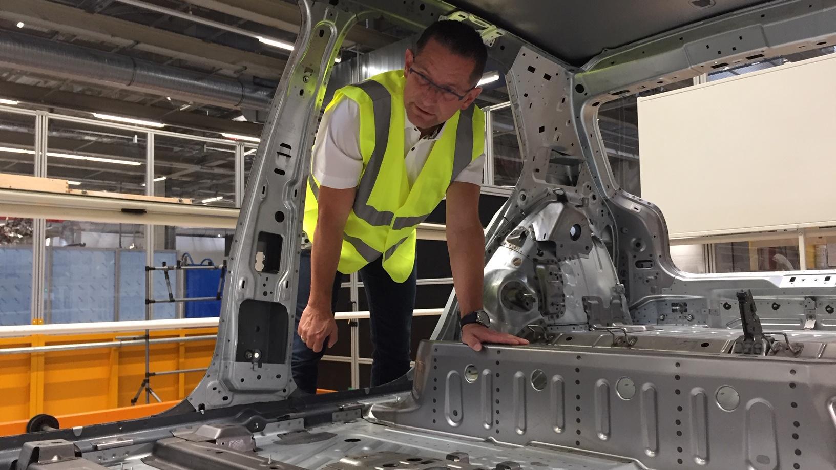 In Zwickau entsteht Europas größtes E-Auto-Werk.