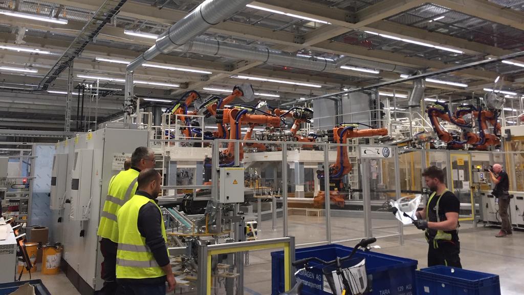 In Zwickau will Volkswagen alle Arbeitsplätze erhalten.
