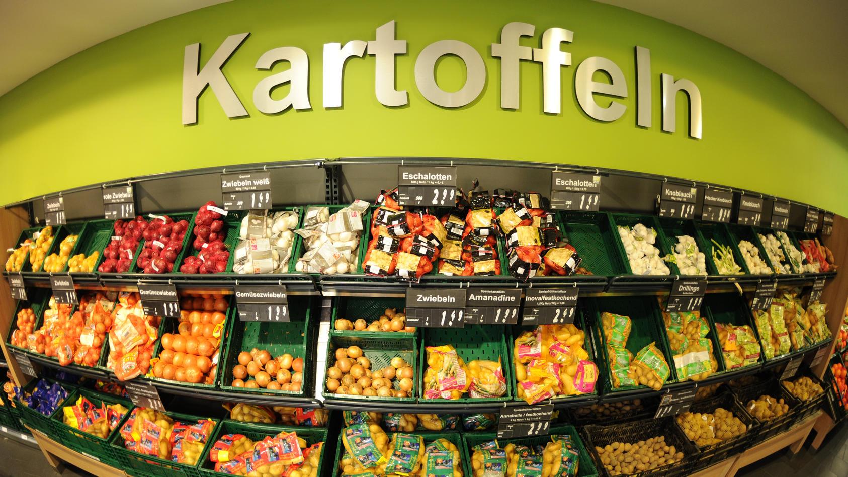 Die Preise für Gemüse sind im Vergleich zum Vorjahr mit 11 % Steigerung geradezu in die Höhe geschossen.