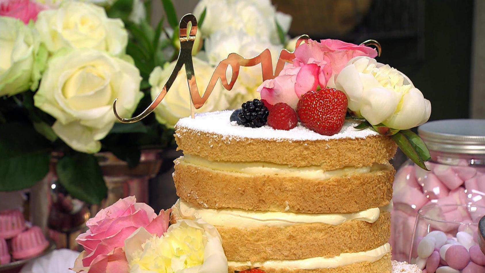 Sweet Table – das zuckersüße Buffet für den besonderen Anlass: Naked Cake