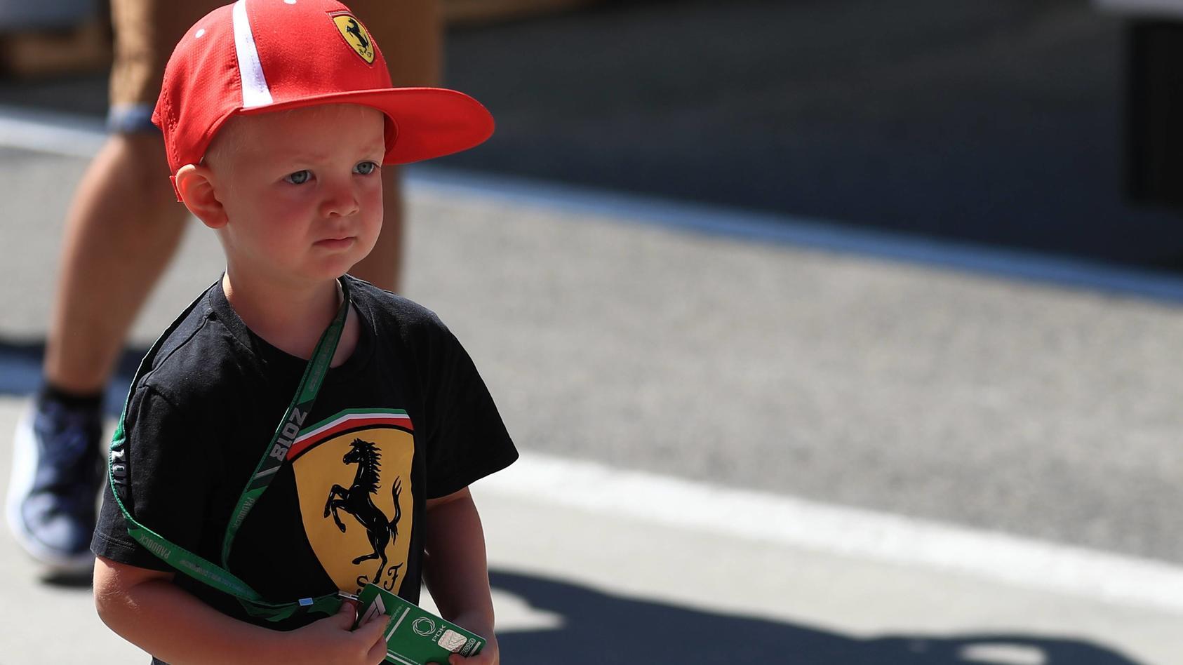 Kimi Räikkönens Sohn Robin