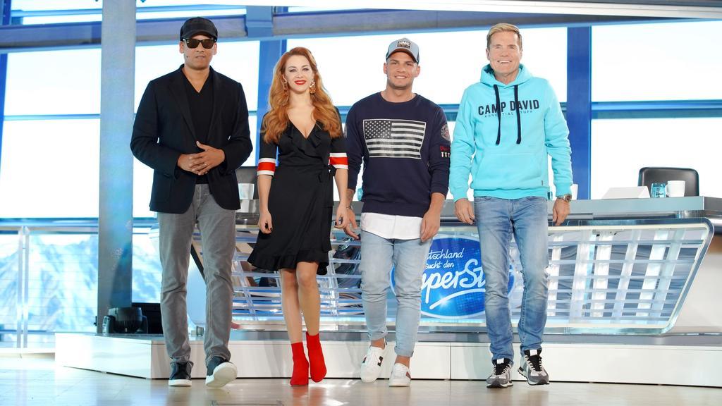 Die DSDS-Jury freut sich auf die neue Staffel - und Xavier Naidoo, Oana Nechiti, Pietro Lombardi und Dieter Bohlen gehen erneut zusammen auf Superstar-Suche.