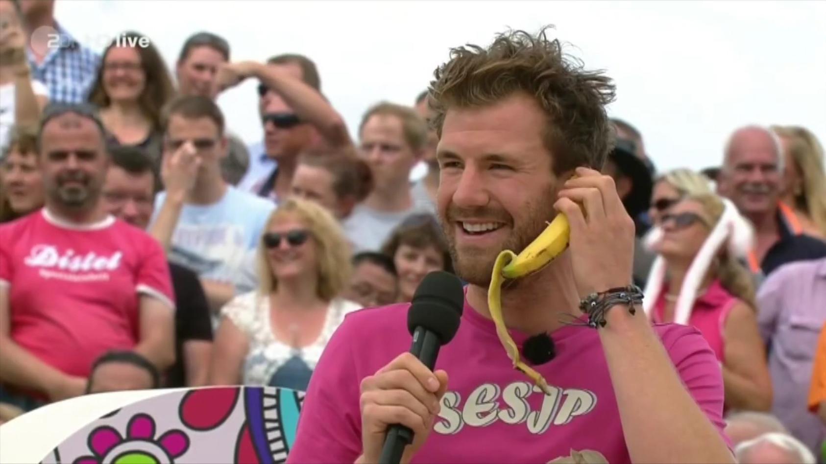Luke Mockridge sorgt mit seinem Gaga-Auftritt beim ZDF-Fernsehgarten für Zorn.