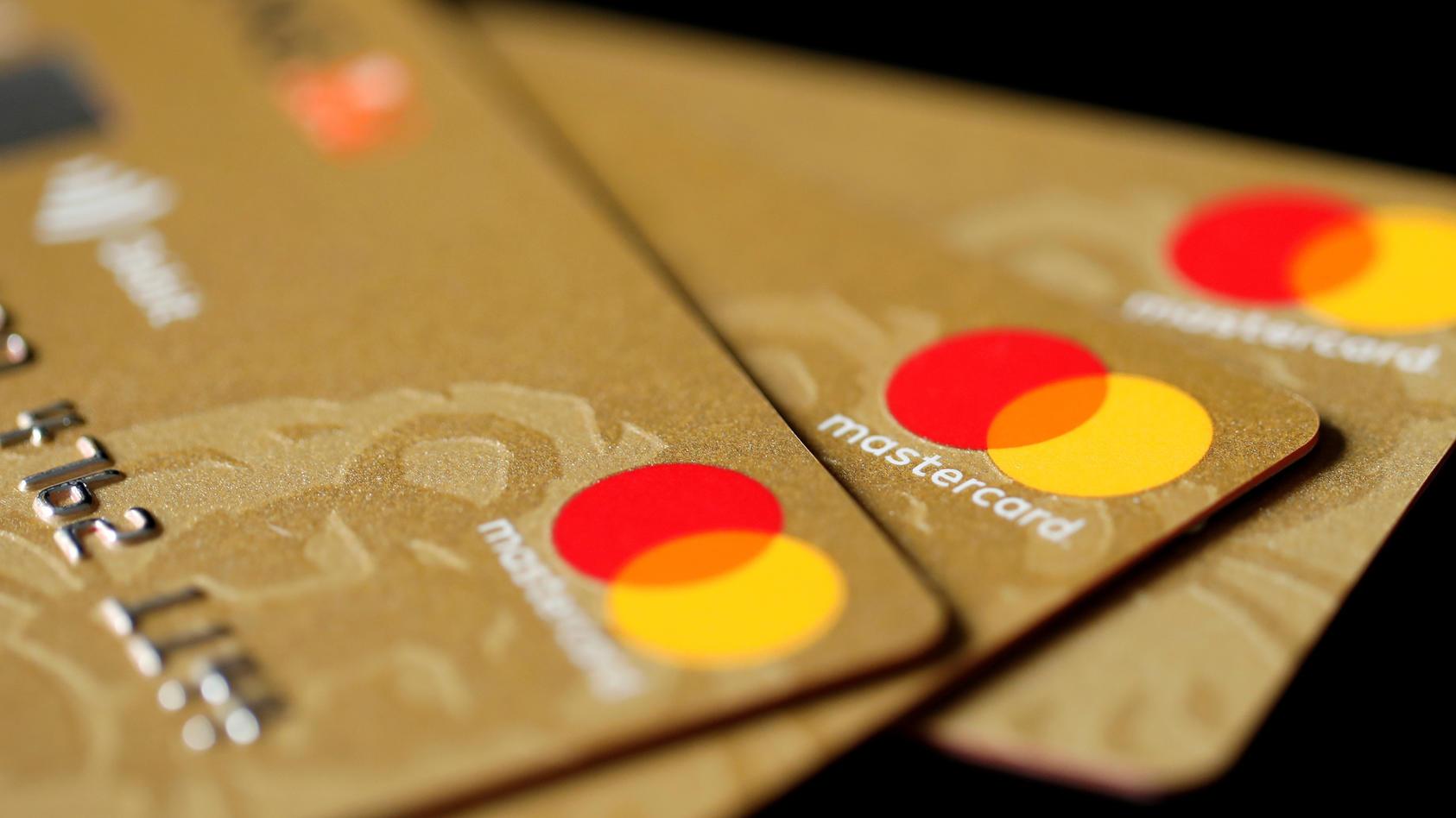 Kreditkarten von Mastercad.